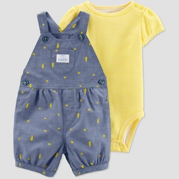 Carter's Other - NWT Carter's shortalls outfit